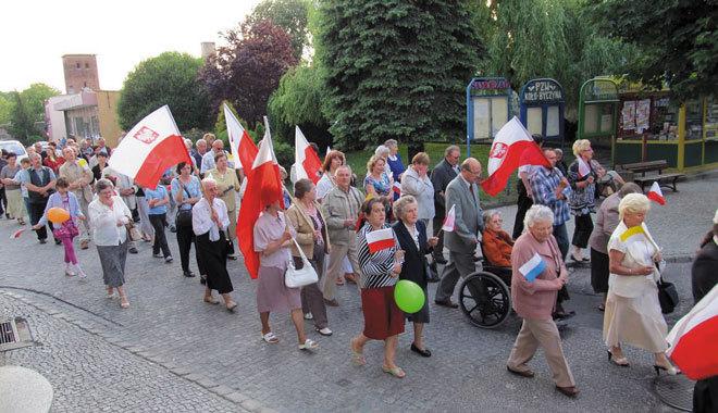 marsz w byczynie