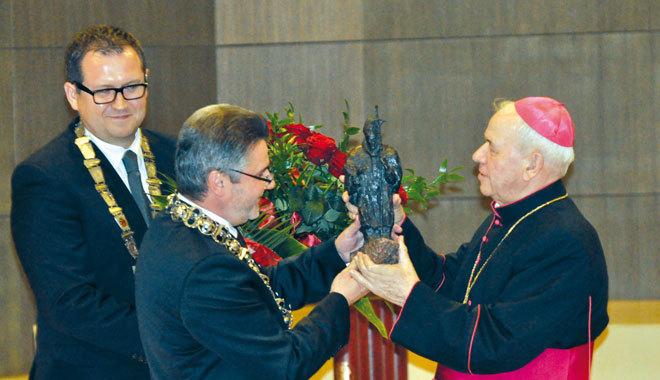 podziękowanie Biskupowi