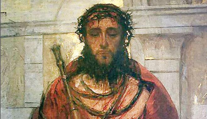 Znalezione obrazy dla zapytania jezus przed piłatem
